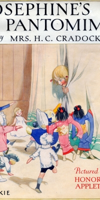 Josephine's Pantomime Book Cover Artwork