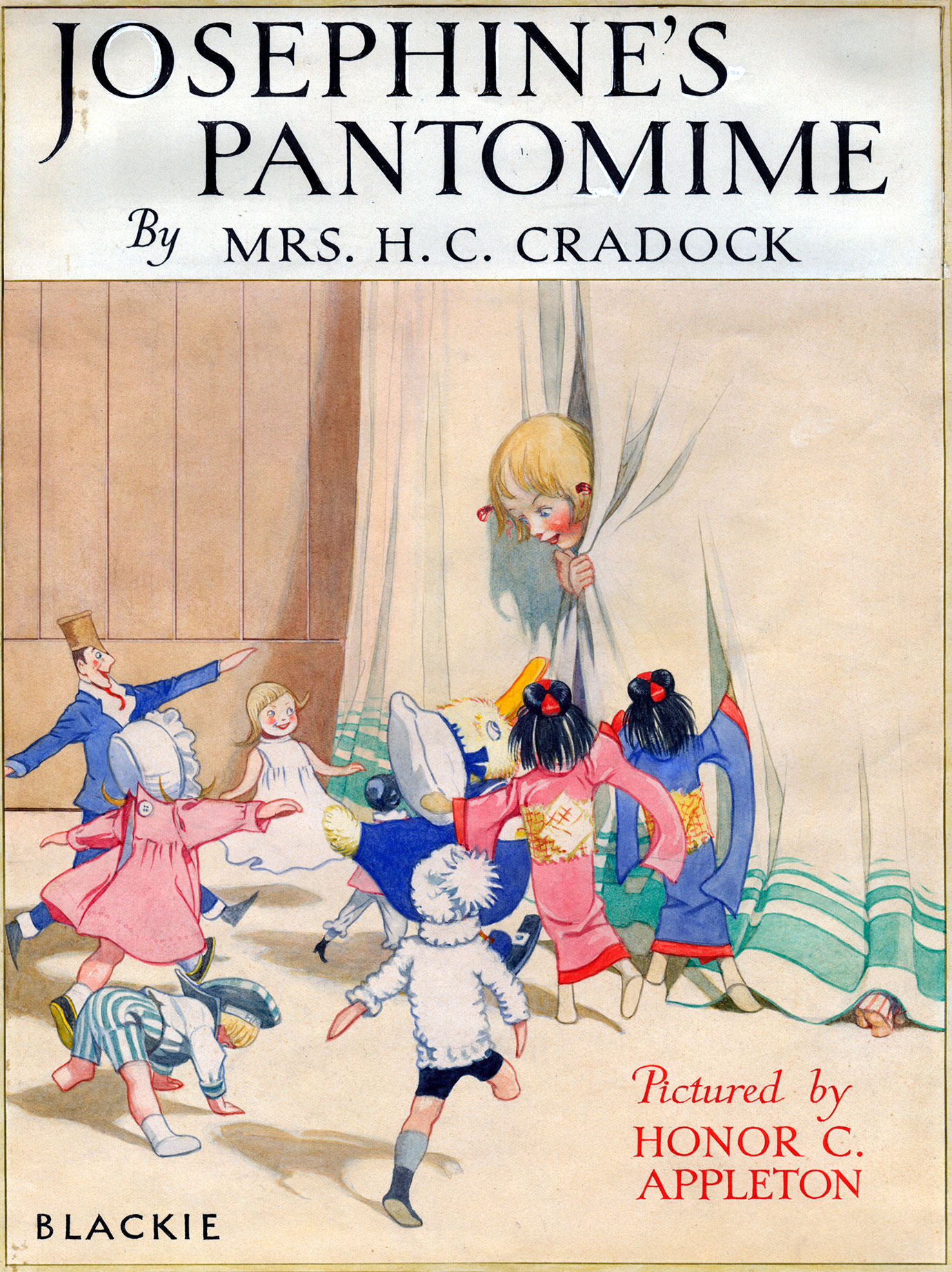 Josephine's Pantomime Book Cover Artwork