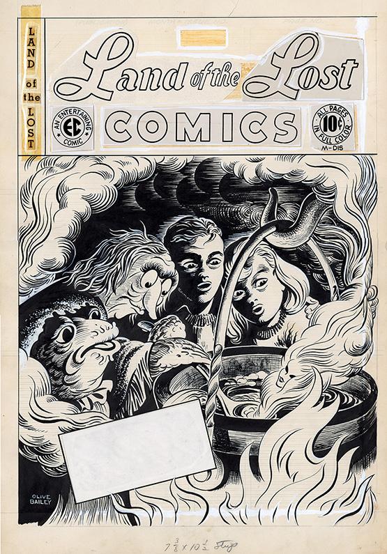 EC Comics Cover Artwork