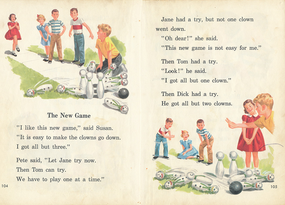 dick and jane illustration gallery